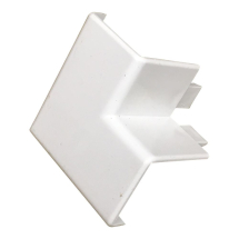 Stanway Window Corner Cap Moulding 70mm in White TD8631