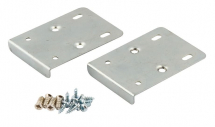 Hinge Repair Plate Kit Bright zinc plated