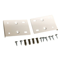 Hinge Repair Plate Kit Cream white RAL 9001