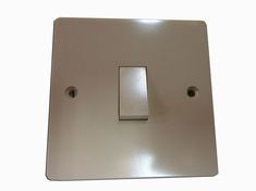Beige 1 Gang 1 Way Lighting Switch