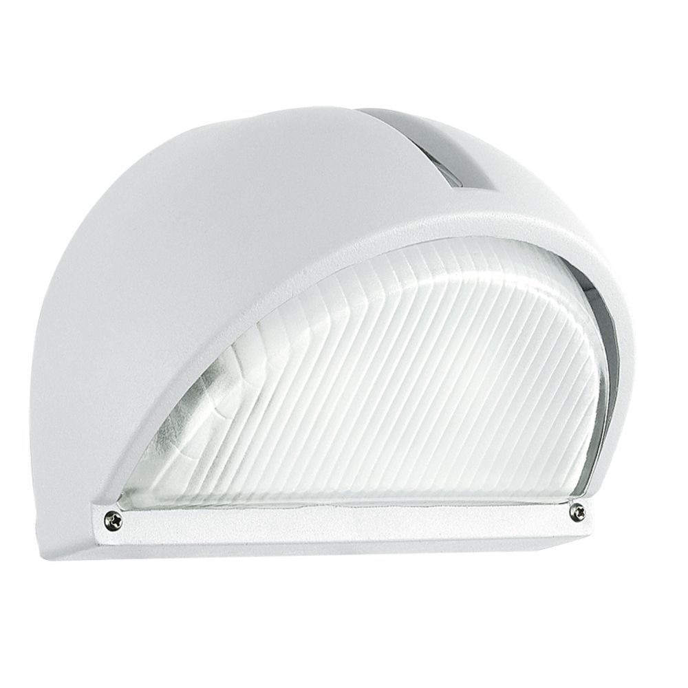 Onja External Wall Light, Aluminium & Polycarbonate