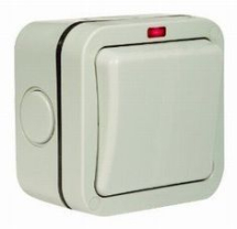 10A Single Outdoor Switch 2 Way IP66
