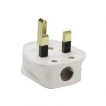 13A Fused Mains Plug With 13A Fuse Fitted UK