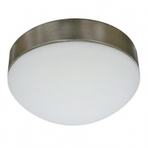 Bathroom Light Fitting with Matt Chrome Base 230mm