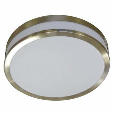 Internal ceiling light With Chrome Band & Plastic Diffuser