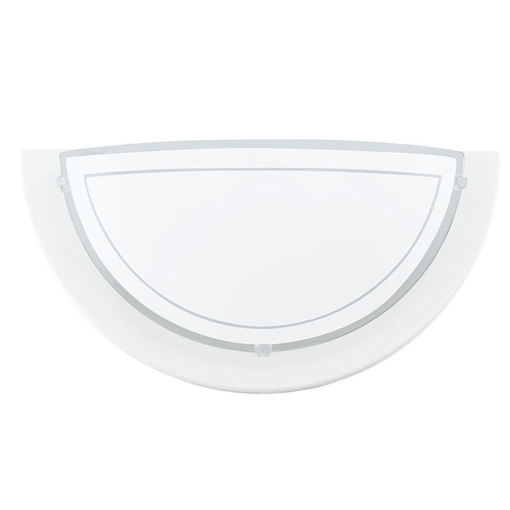 Planet White Wall Light Fitting