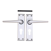 Ellbee Euro Door Handle set ( White )