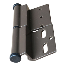 Brown Ellbee static door hinge (Left hand) Single
