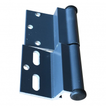 ELLBEE GRAPHITE DOOR HINGE RIGHT HAND - DIAMOND RANGE