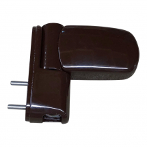 Ellbee Brown 3D Flag Hinge - PVCU Door