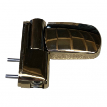 Ellbee Gold 3D Flag Hinge - PVCU Door