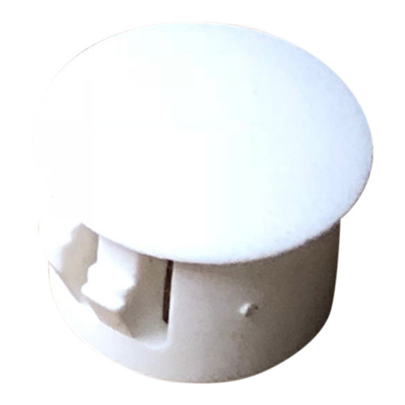 Ellbee Screw Cap Cover 12mm - White
