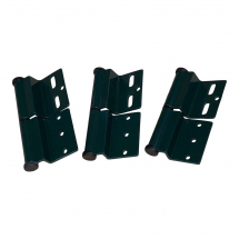 ELLBEE GREEN DOOR HINGE RIGHT HAND - DIAMOND RANGE PACK OF 3