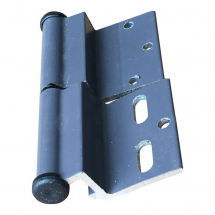 ELLBEE GRAPHITE DOOR HINGE LEFT HAND - DIAMOND RANGE
