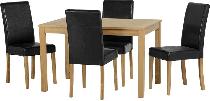 Oakmere dining table and Oslo chairs set