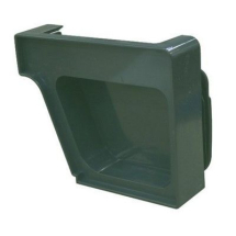 Royal Europa Gutter End Cap - Green - LH