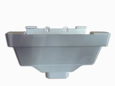 Royal Europa Gutter Outlet - White