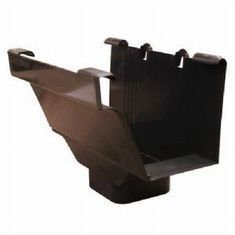 Royal Europa Gutter Outlet - Brown