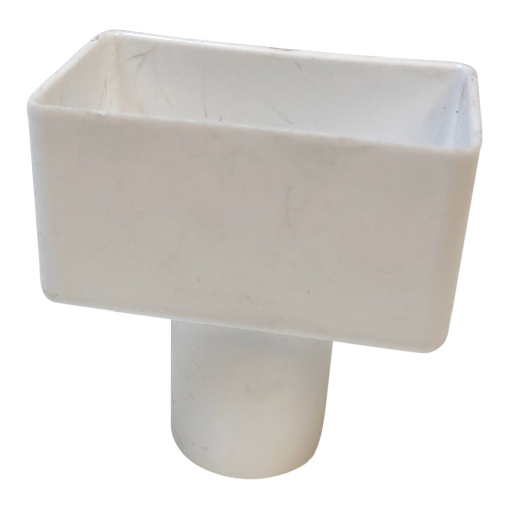 DLS Downpipe Reducer - White