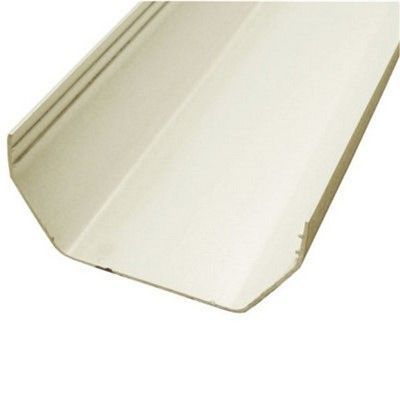 SQUARE LINE GUTTER 2M Length - White 112mm