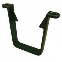 SQUARE LINE DOWNPIPE CLIP - Green