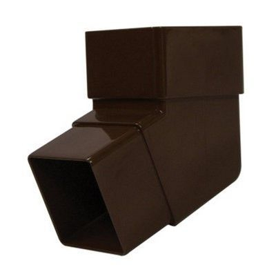 SQUARE LINE OFF SET BEND - BROWN