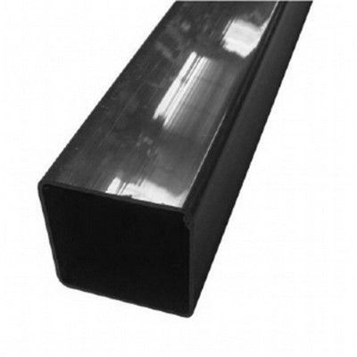 SQUARE LINE DOWNPIPE - Black 65mm x 65mm x 2.5m