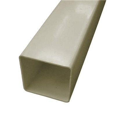 SQUARE LINE DOWNPIPE SANDSTONE 65mm x 65mm