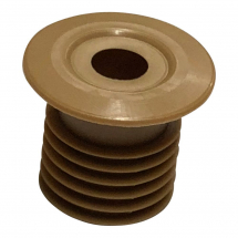 10mm Pipe Seal Hole Tidy With 27mm Tail Beige