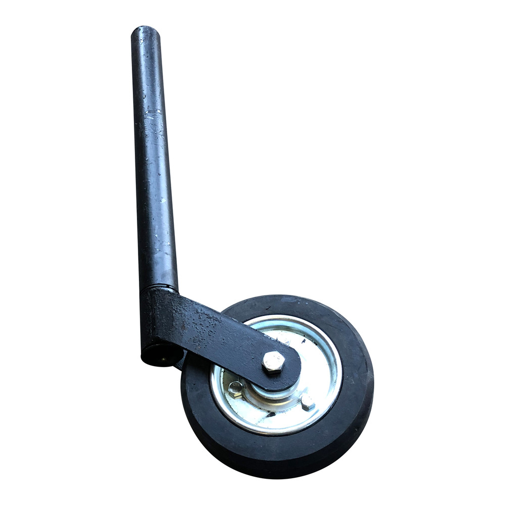 Mobile Home Jockey Wheel - Black