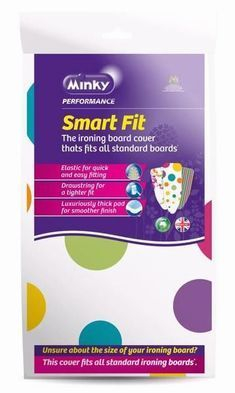 SMART FIT IRONING BOARD COVER 1 SIZE FITS ALL
