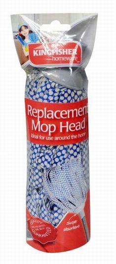 Kingfisher Replacement Mop Head For KI016