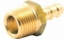 Clesse Brass Hose Nozzle 3/8inch Male 10mm