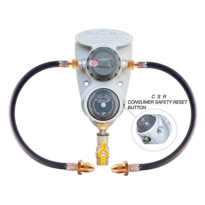 Clesse Compact 800 2 Pack ACO automatic changeover Regulator