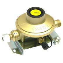 Clesse Caravan Regulator 30mb 1.5Kg Straight Inlet  000893AH