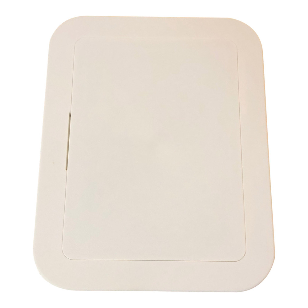 White Plastic Inspection Panel 200MM X 150MM