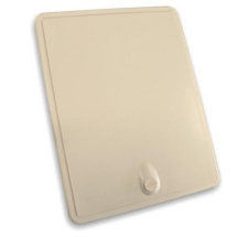 Access door panel With Coin Lock Cream