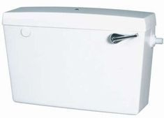 SLIMLINE BOTTOM FEED CISTERN WHITE