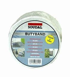 Flashband Soudal Butyband 75mm x 0.6mm, 10mt Roll