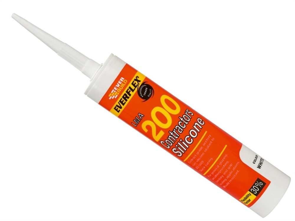 White Silicone Sealant