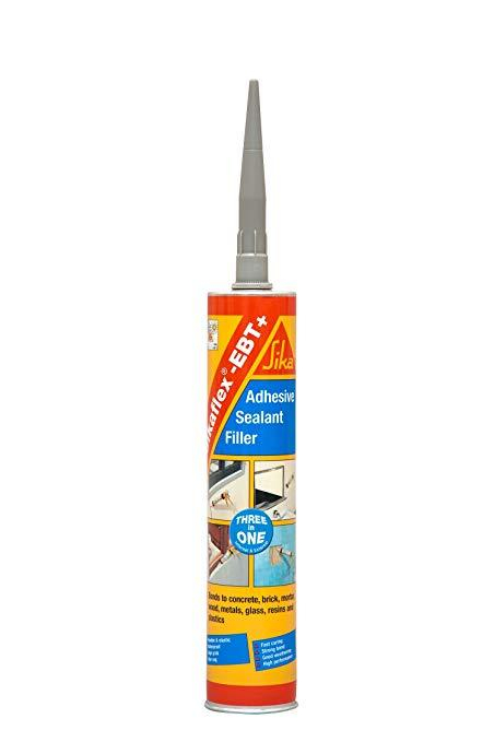 Grey Sika Flex EBT Adhesive 300ml