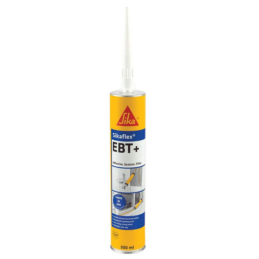 Clear Sika Flex EBT Adhesive 300ml