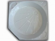 White Shower Tray Skin PC1557C