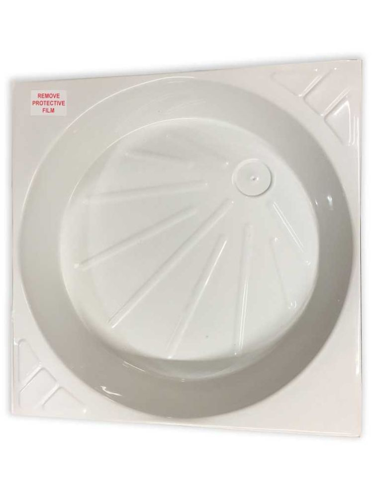 White Universal Shower Tray Skin PC1557K