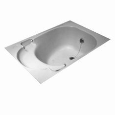 Medium shower bath skin White G0992A900