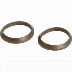 1 1/2inch Tapered Trap Washer Pack of 2