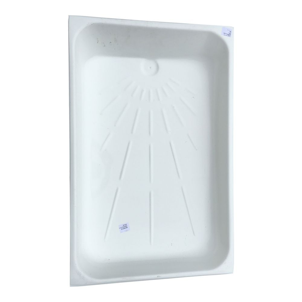 White Plastic Shower Tray Skin 1048 x 680 HFE0952A900