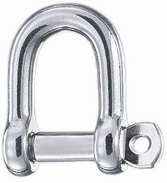 6mm D Shackle with screw collar