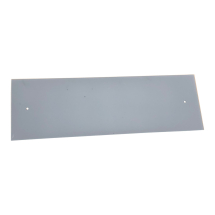 Grey Glass Cooker Splashback 625mm x 200mm x 4mm C/W Holes
