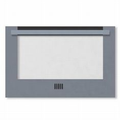 Stoves 600 DIS oven door, silver 012958000